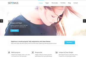 septimus site template